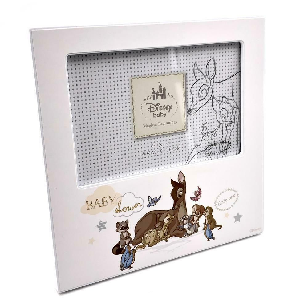 "6"" X 4"" DISNEY MAGICAL BEGINNINGS PHOTO FRAME BAMBI"