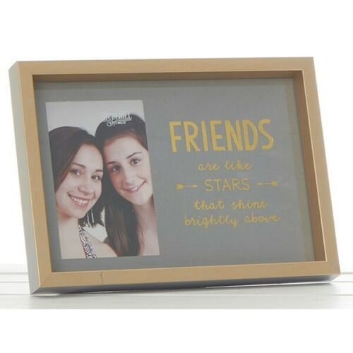 Gold Sentiments Frame Friends Photo Frame