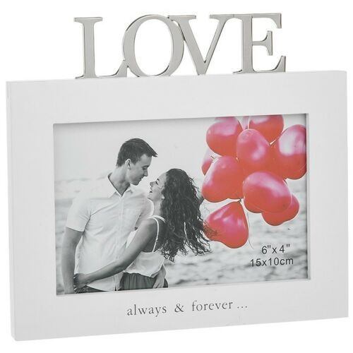 Love Aways & Forever 6 x 4 Photo Frame