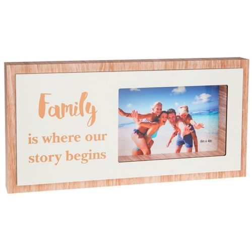 Rosy Words Family Story Photo Frame