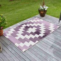 Alfresco pink/purple Mirage Outdoor Rug 120x180cm