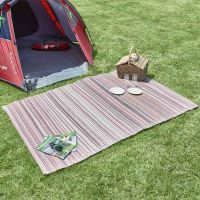 Alfresco pink/purple Stripe Outdoor Rug 120x180cm