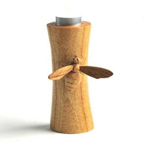 Jempinis Wood Bee Tealight Holder