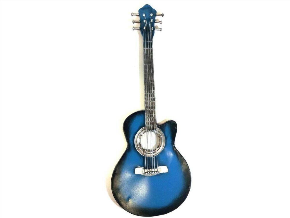 Blues Acoustic Guitar Wall Art