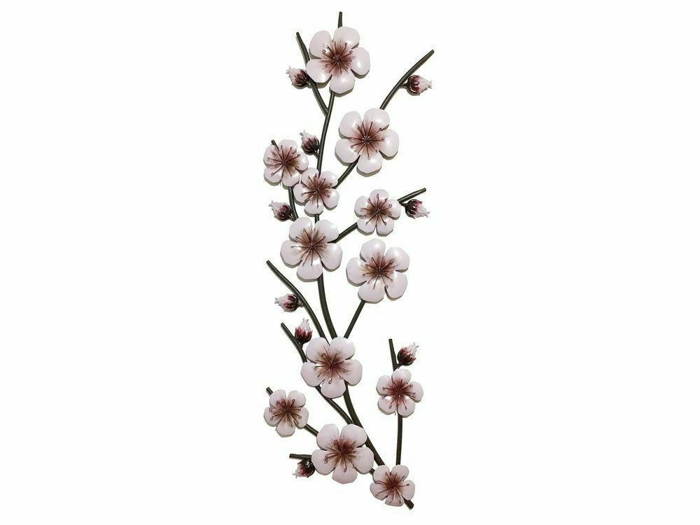 Pink / Lavender Flower Stem Wall Art