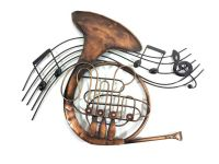 French Horn Musical Note Wall Art