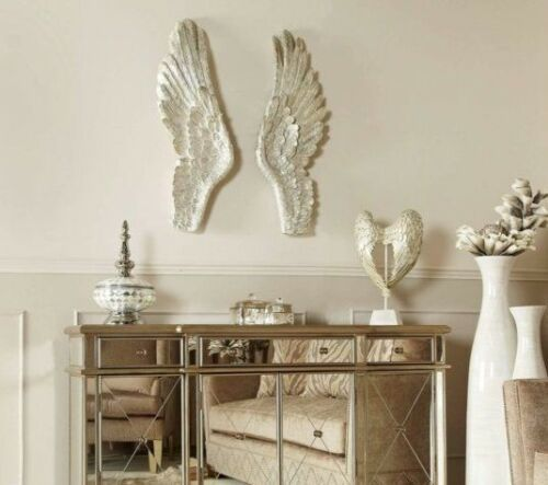 XL Pair of Mother of Pearl Angel Wings
