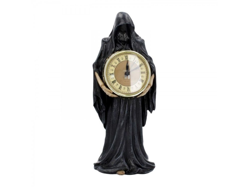 Final Hour Grim Reaper Gothic Table Clock