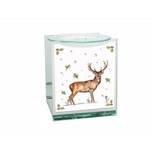 Winter Stag T-Light Christmas Oil Burner