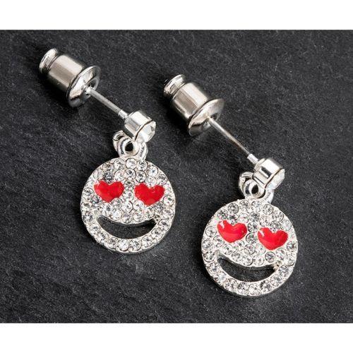 Equilibrium Heart Emoji Earrings