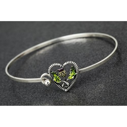Equilibrium Scottish Thistle Bangle