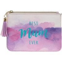 Best MUM Ever  Watercolour Coin Purse