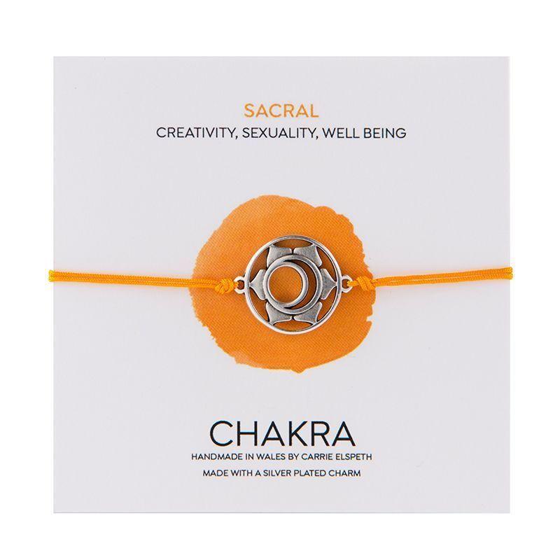 Carrie Elspeth Sacral Chakra Charm Bracelet