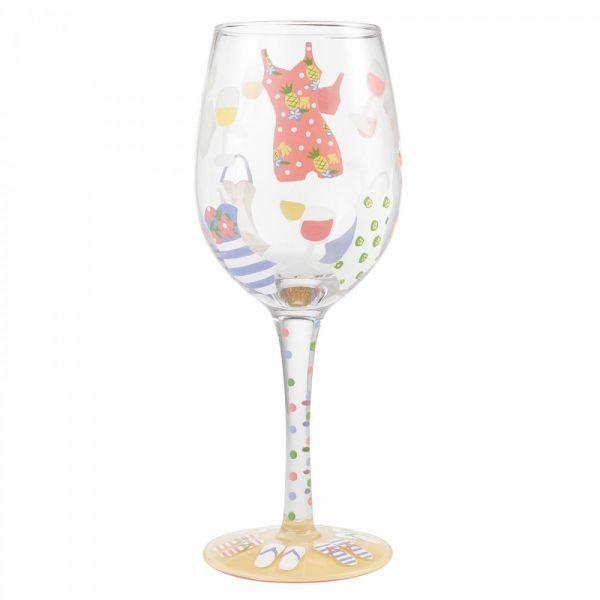 Lolita CABANA CUTIE Wine Glass