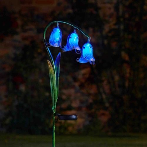 Solar Powered Bluebell Stake Light