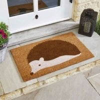 Spike the Hedgehog Coir Doormat
