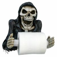 Reapers Revenge Skeleton Toilet Roll Holder