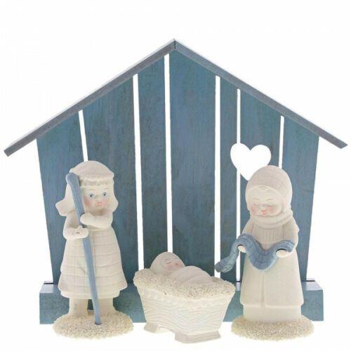 SNOWBABIES 4 Piece Nativity Set