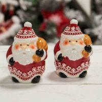 Santa With Sack Cruet Set