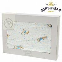 Beatrix Potter Peter Rabbit Baby Collection Crib Blanket 100% Cotton