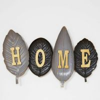 HOME Leaves Large Contemporary Metal Wall Art
