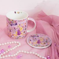 DISNEY Princess Rapunzel Mug and Coaster Set Cup Gift Boxed Set