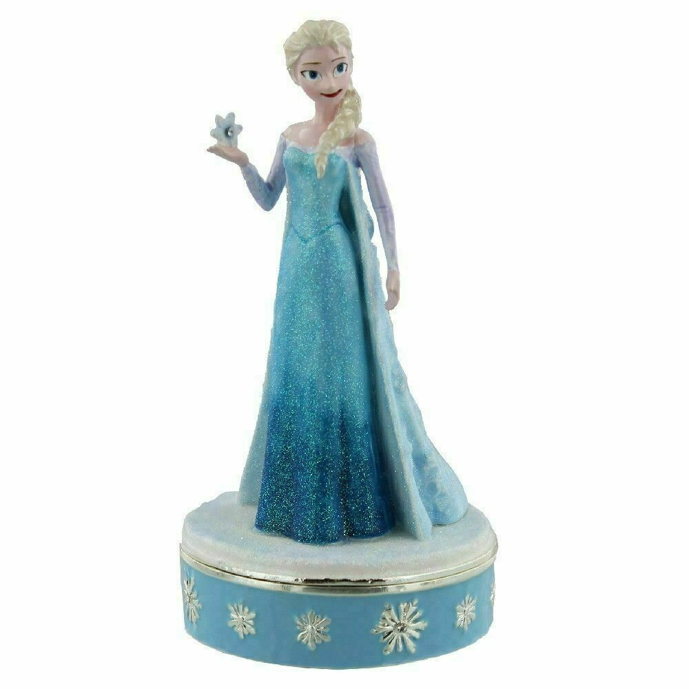 Disney Frozen Elsa Trinket Storage Box Figure Gift Boxed