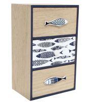 Nautical Seashore Decorative Chest Of Drawers