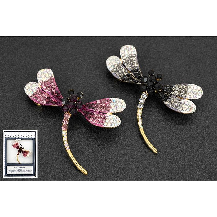 Equilibrium Diamante Dragonfly Brooch