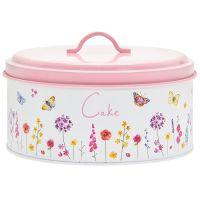 Butterfly Garden Pink Cake Tin