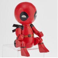 Deadpool Wooden Puppet Figure