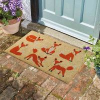 Six Vixens Coir Doormat