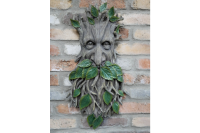 X Large Forest Green Man Wall Plaque Tree Spirit