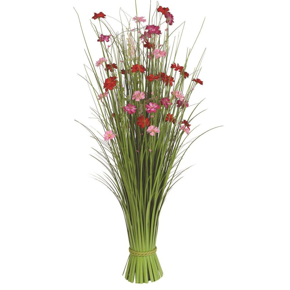 Large 100 cm Grass Floral Bundle Azalea Faux Bouquet