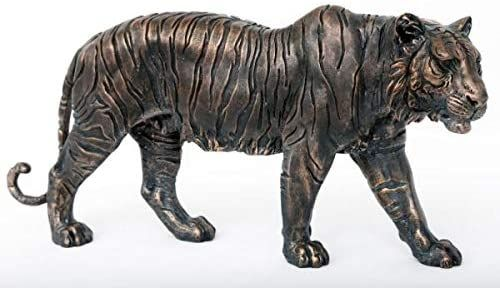 Bronze Leopard Ornament 37cm