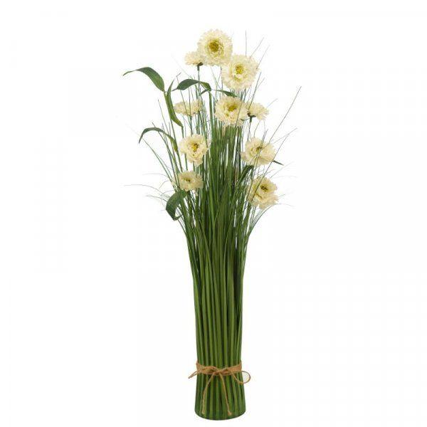 70cm Pearl Blooms Wild Flower Grass Faux Bouquet