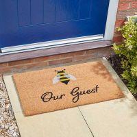 Bee our Guest Coir Doormat