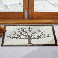 Machine Washable Tree of Life Doormat