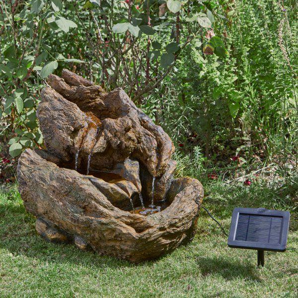 Solar Powered Wychwood Falls Fountain