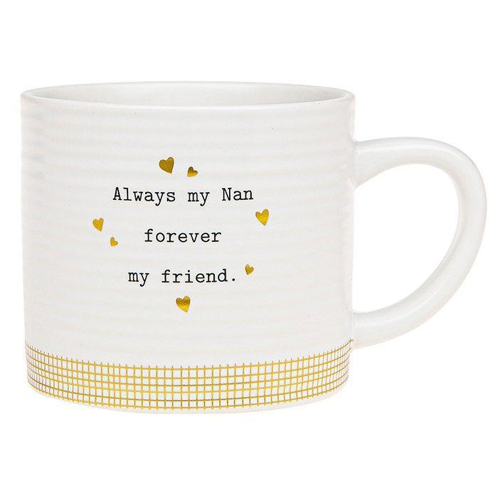 Thoughtful Words Mug Nan