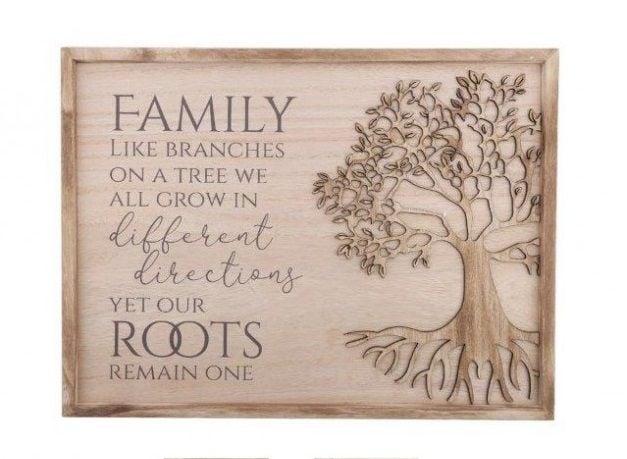 Tree of Life Family Plaque