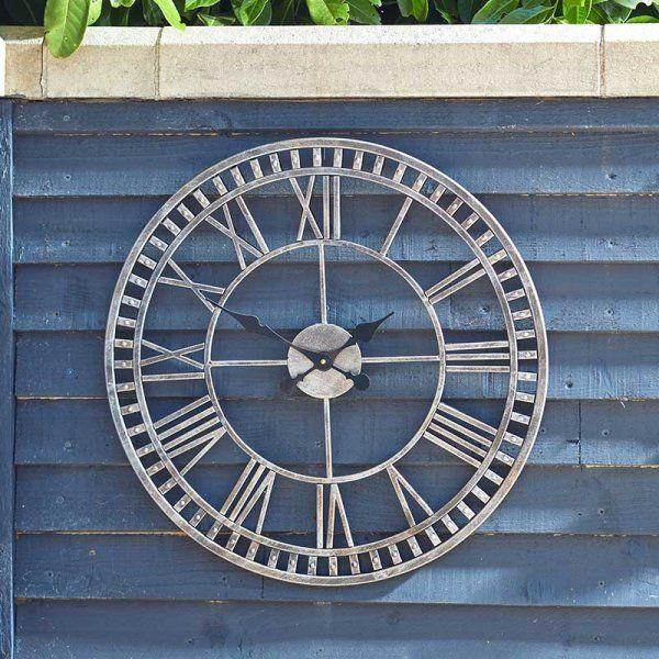 Buxton 60cm Indoor / Outdoor Large Wall Clock