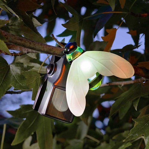 Bee Solar Light Clips - Set of 4
