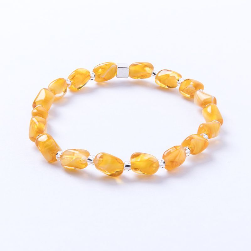 Carrie Elspeth Mustard Strand Bracelet