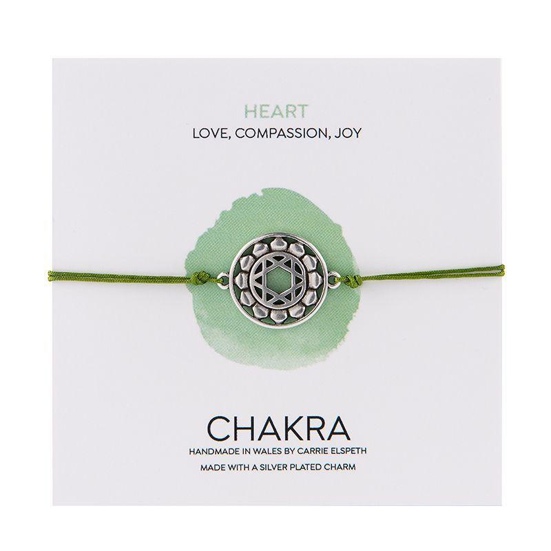 Carrie Elspeth Green Heart Chakra Aventurine Charm Bracelet