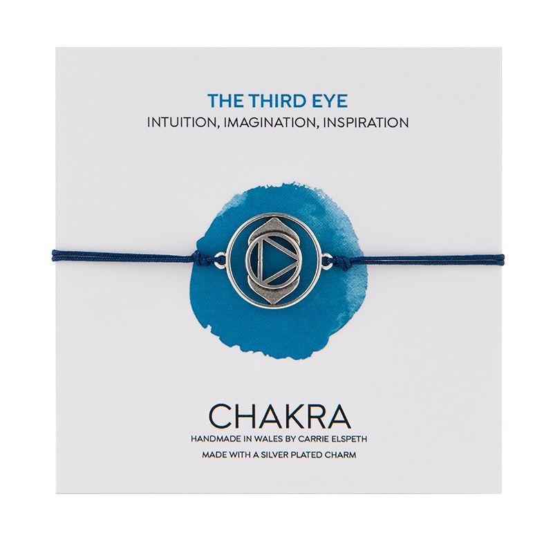 Carrie Elspeth Blue The Third Eye Chakra Lapis Lazuli Charm Bracelet