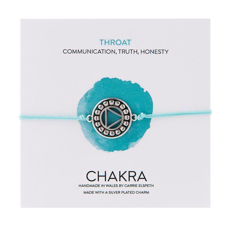Carrie Elspeth Turquoise Throat Chakra Aventurine Charm Bracelet