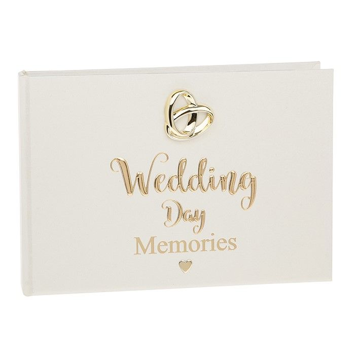 Wedding Day Memories Bands of Gold Photo Album 24 pic