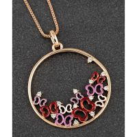Equilibrium Indulgent Tones Butterfly Cluster Necklace