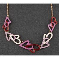 Equilibrium Indulgent Tones Modern Hearts Necklace